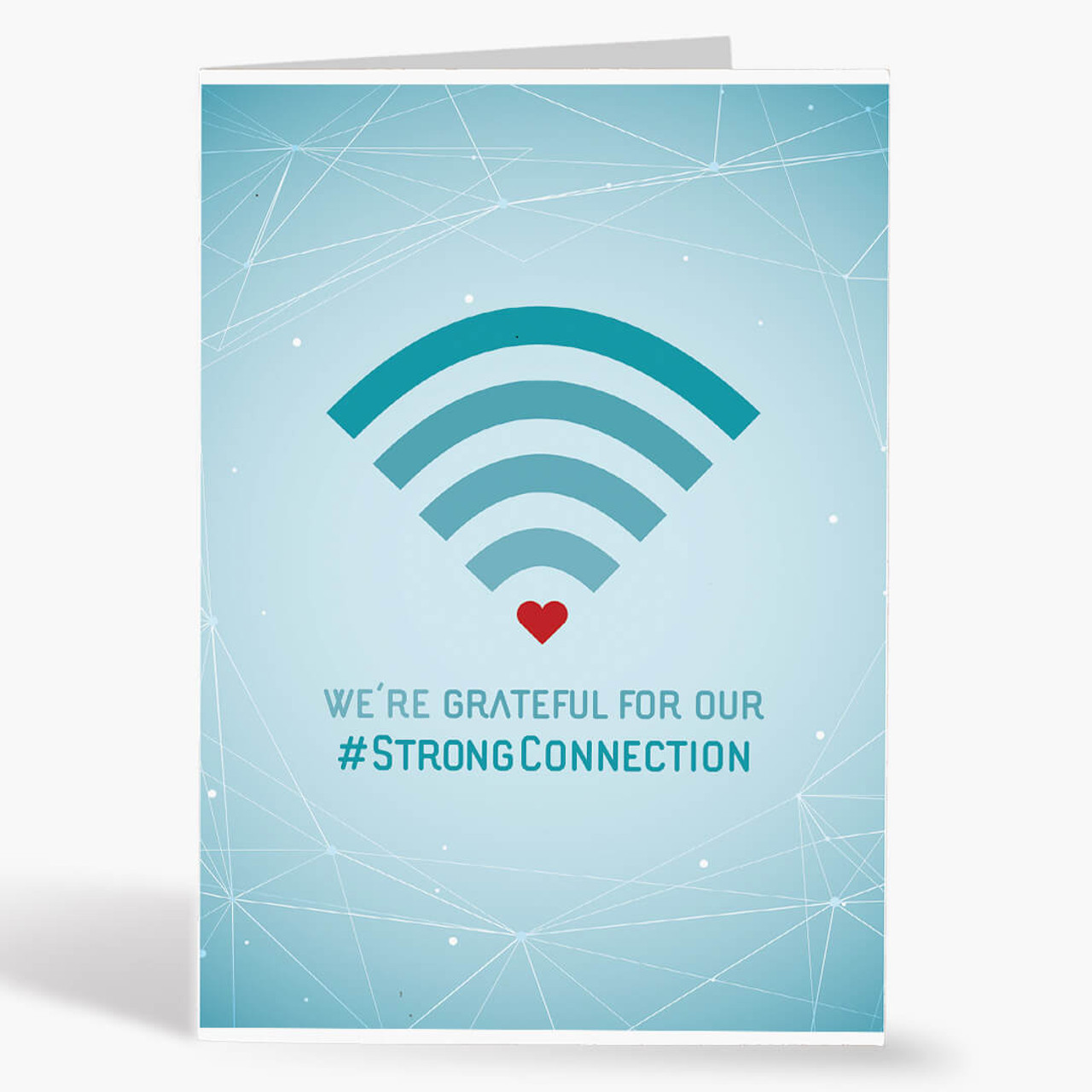 Strong Connection Thank You Card