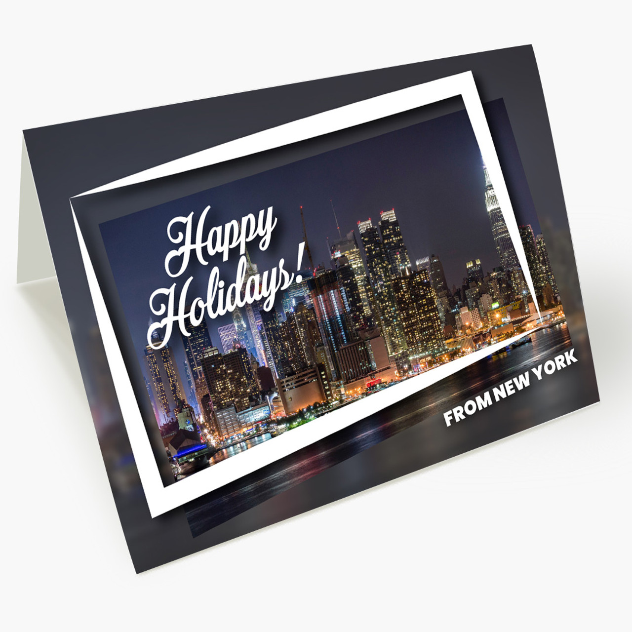 Holiday City Postcards - New York Christmas Card