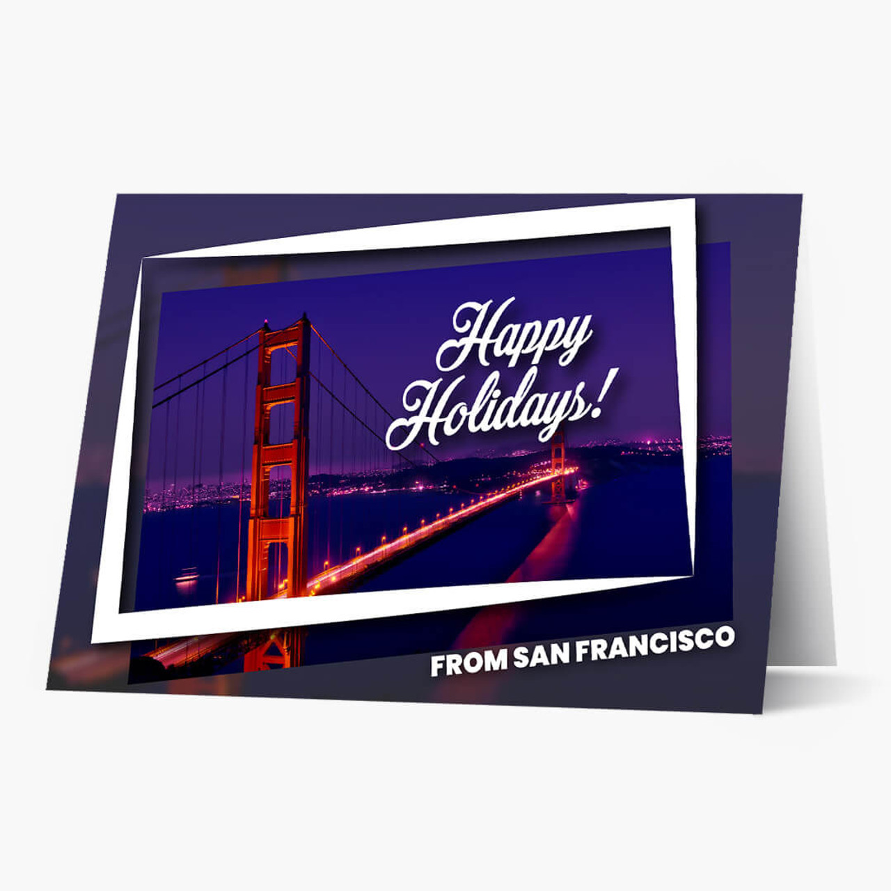 Holiday City Postcards - New York Christmas Card