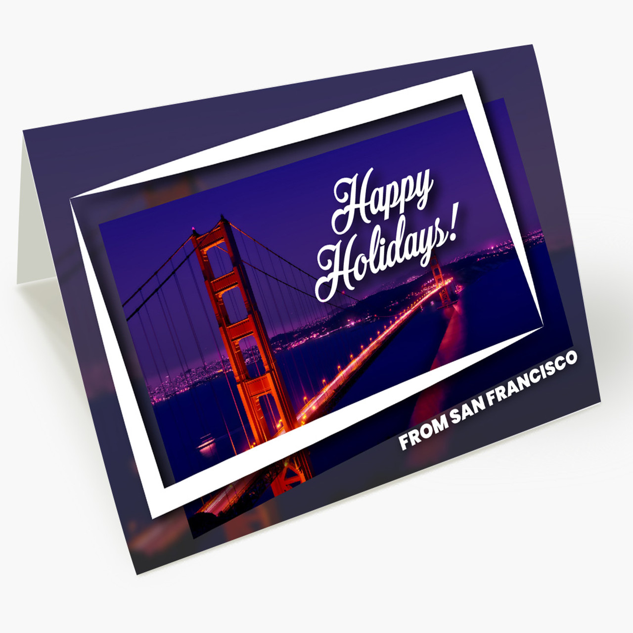 Holiday City Postcards - San Francisco Christmas Card