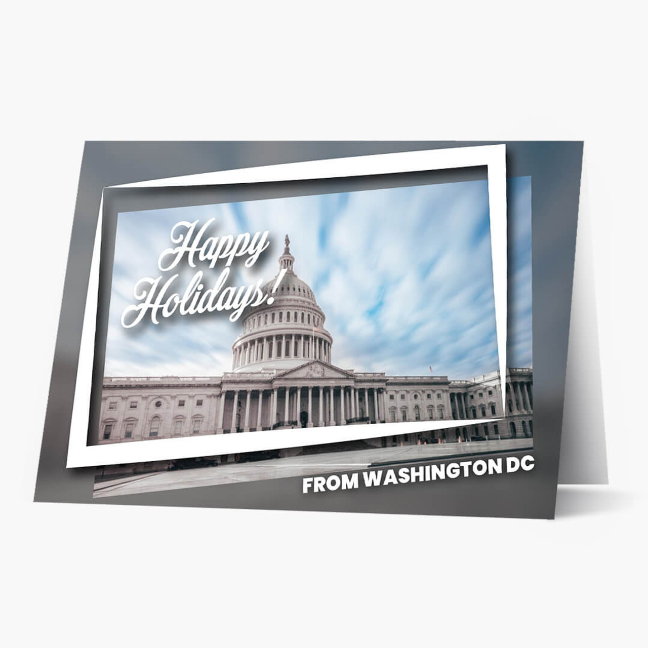 Holiday City Postcards - Washington, DC Christmas Card