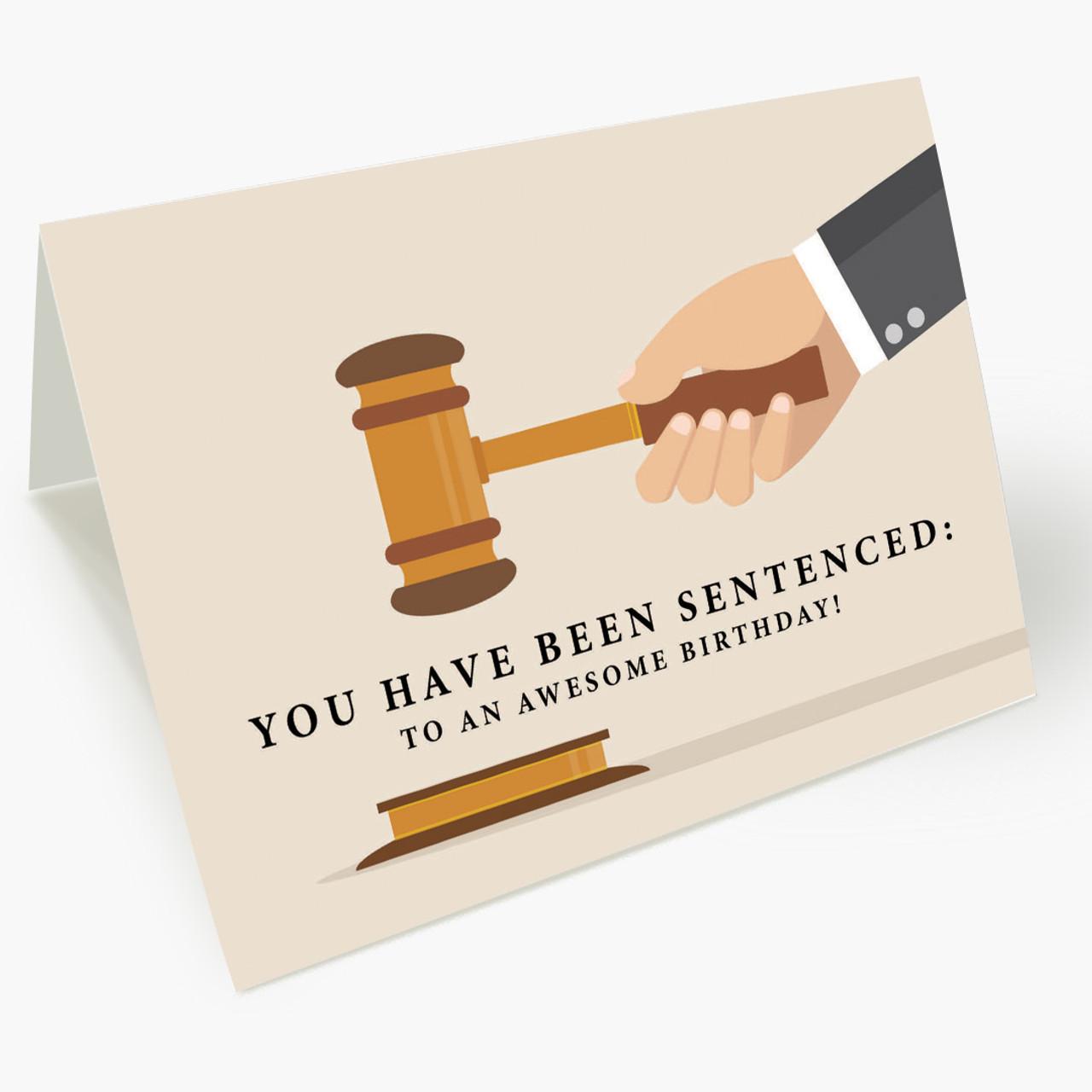 Birthday Sentence Card