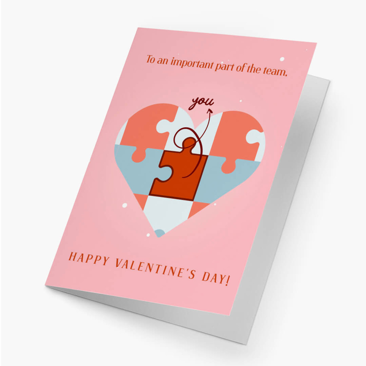 Valentine's Business Card