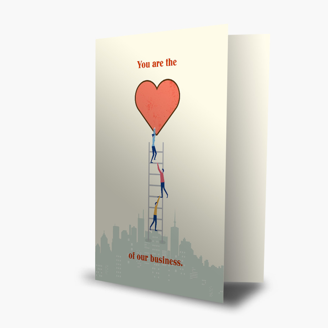 Heart of the Business Valentine's Card