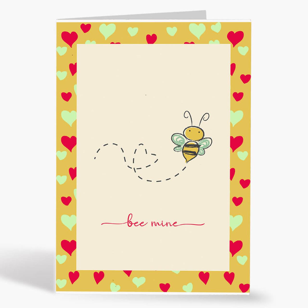Bee Mine Valentine's Card