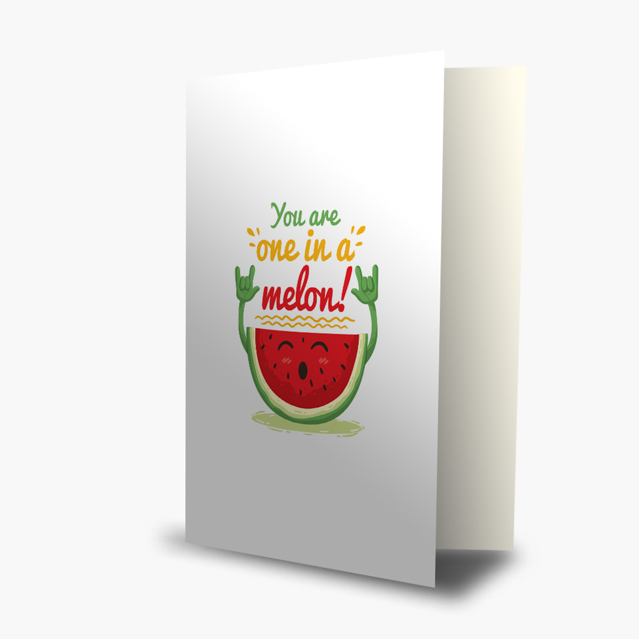 One in a Melon! Thank You Card