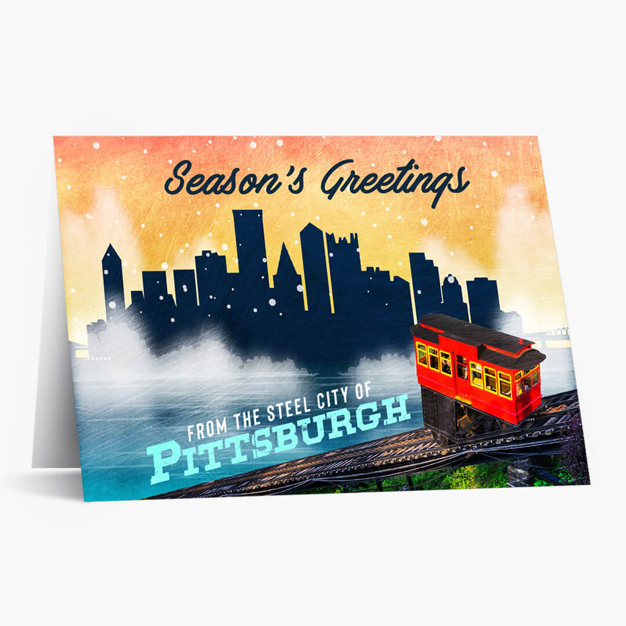 Pittsburgh Wishes Christmas Card
