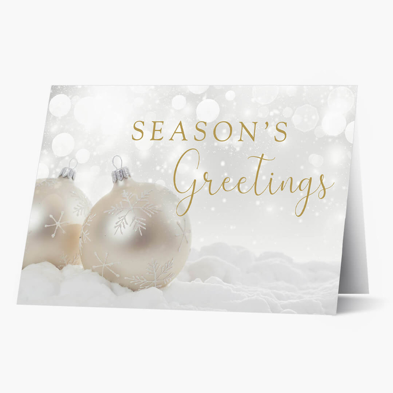 Pearly Decorations Christmas Card