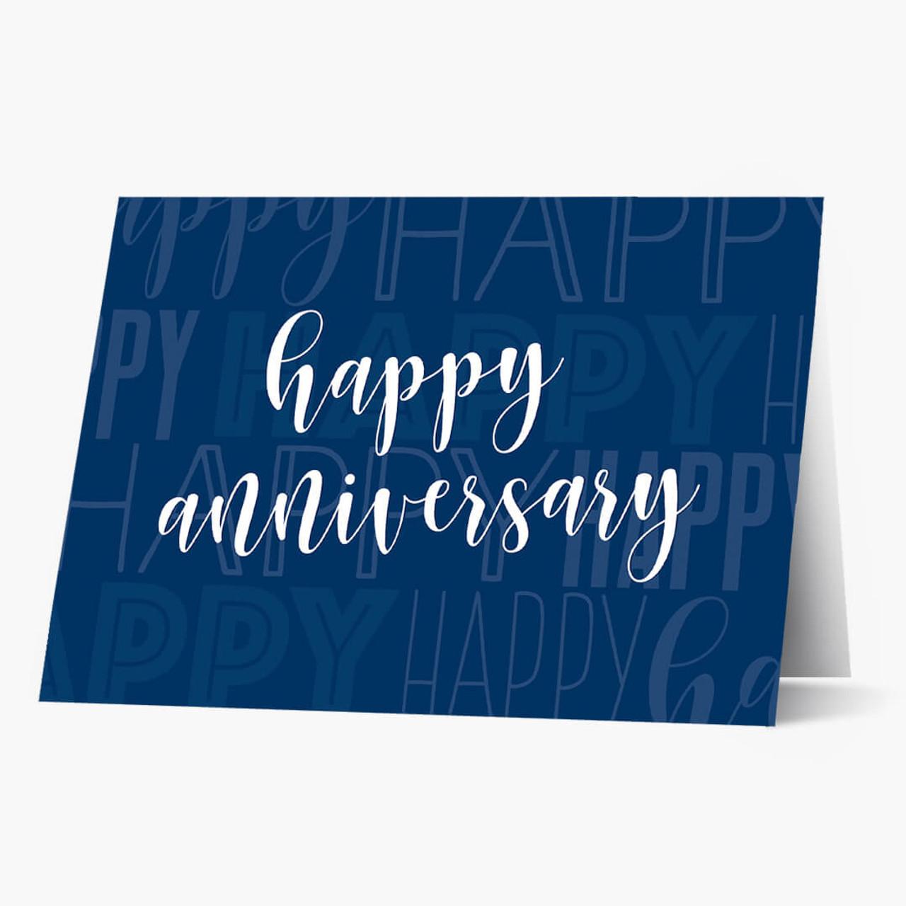 Anniversary Typography