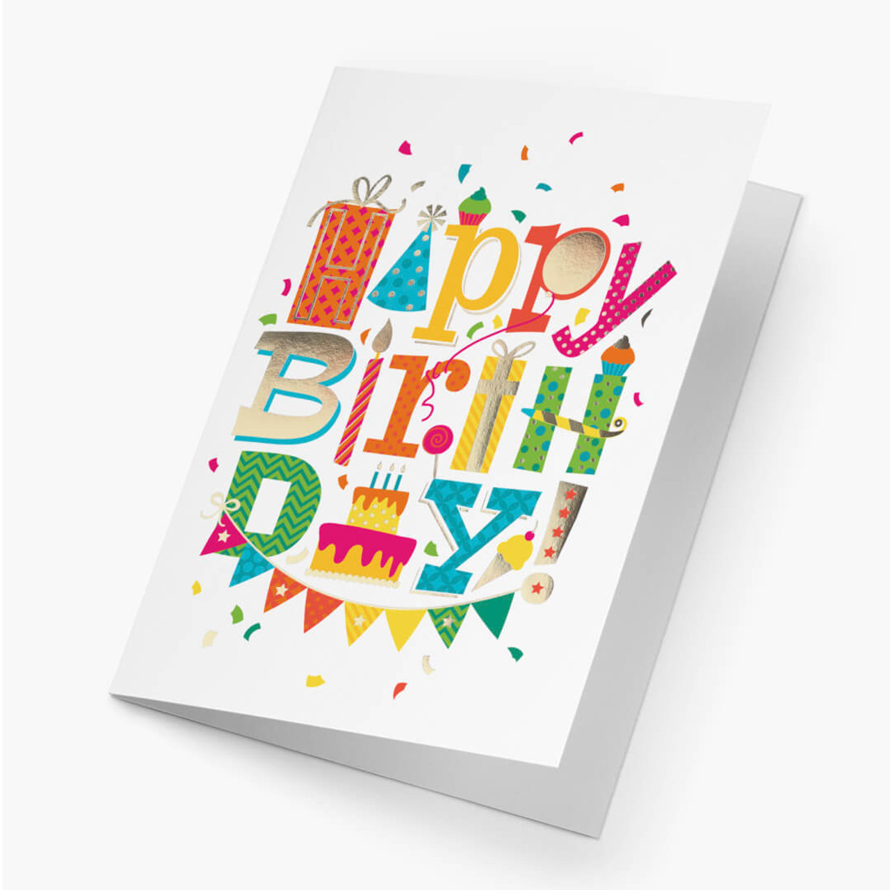 Happy Elements Birthday Card