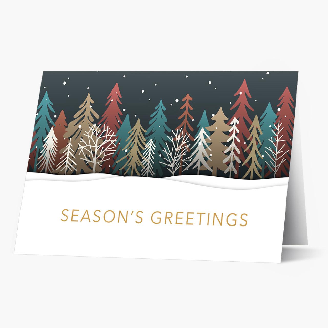 Winter Tree Greetings