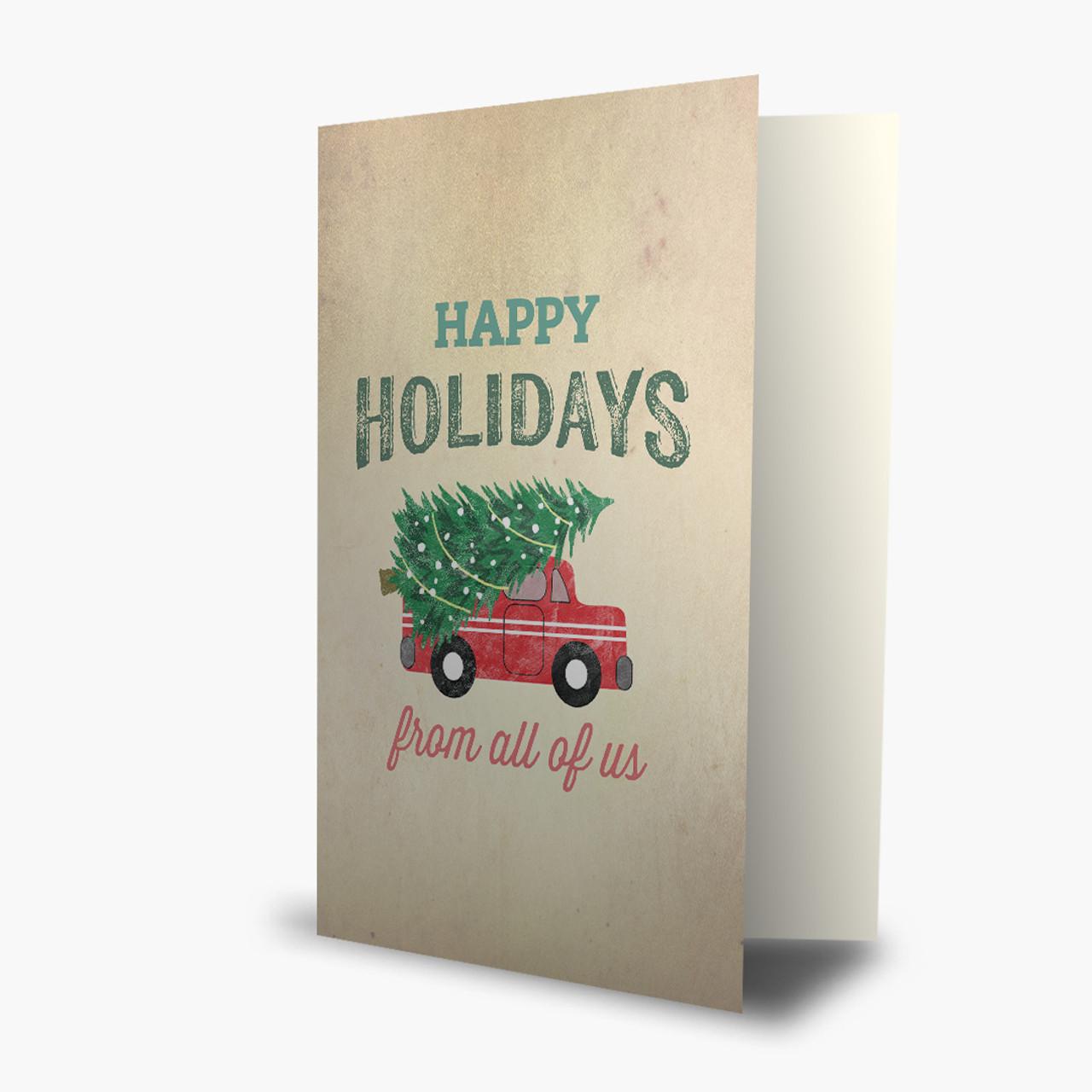 Happy Holiday Truck