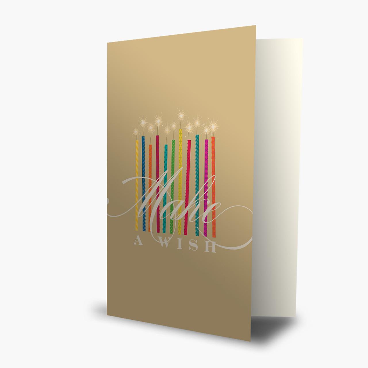 Make Your Wish Birthday Card