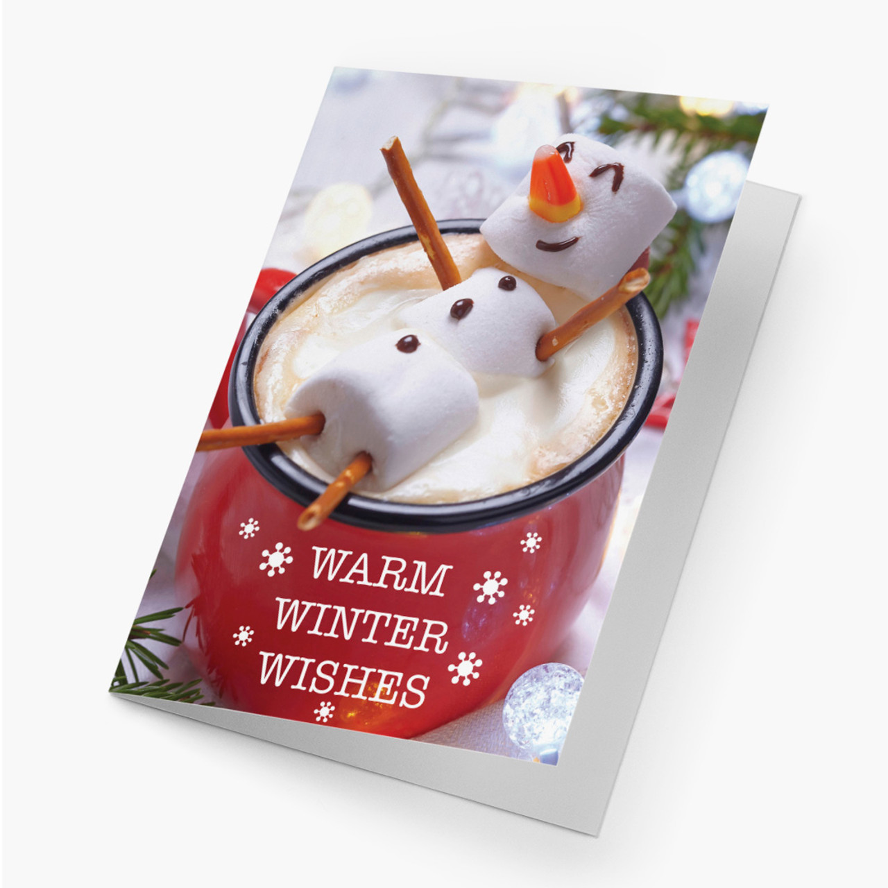 Warm Winter Wishes Christmas Card