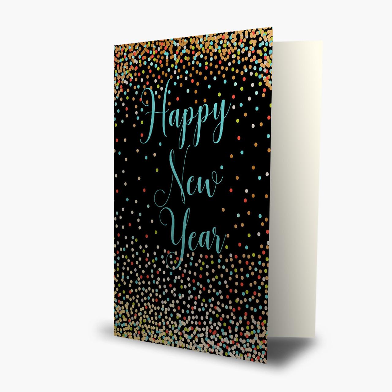 Happy New Year Dots