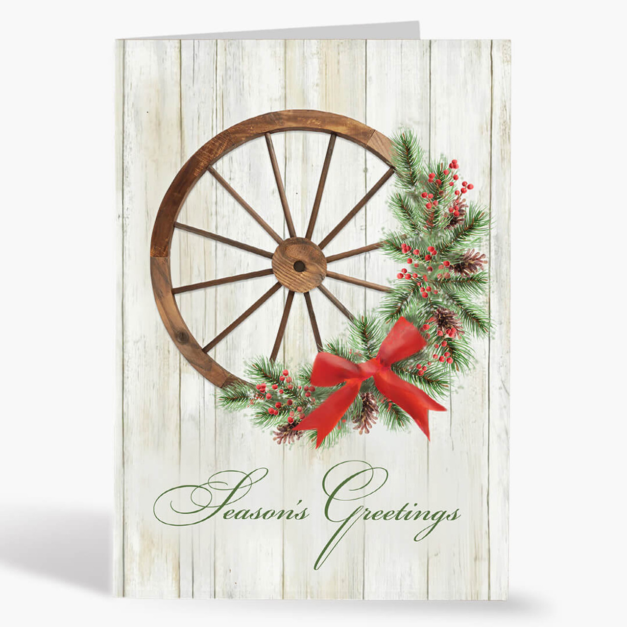 Wagon Wheel Wreath