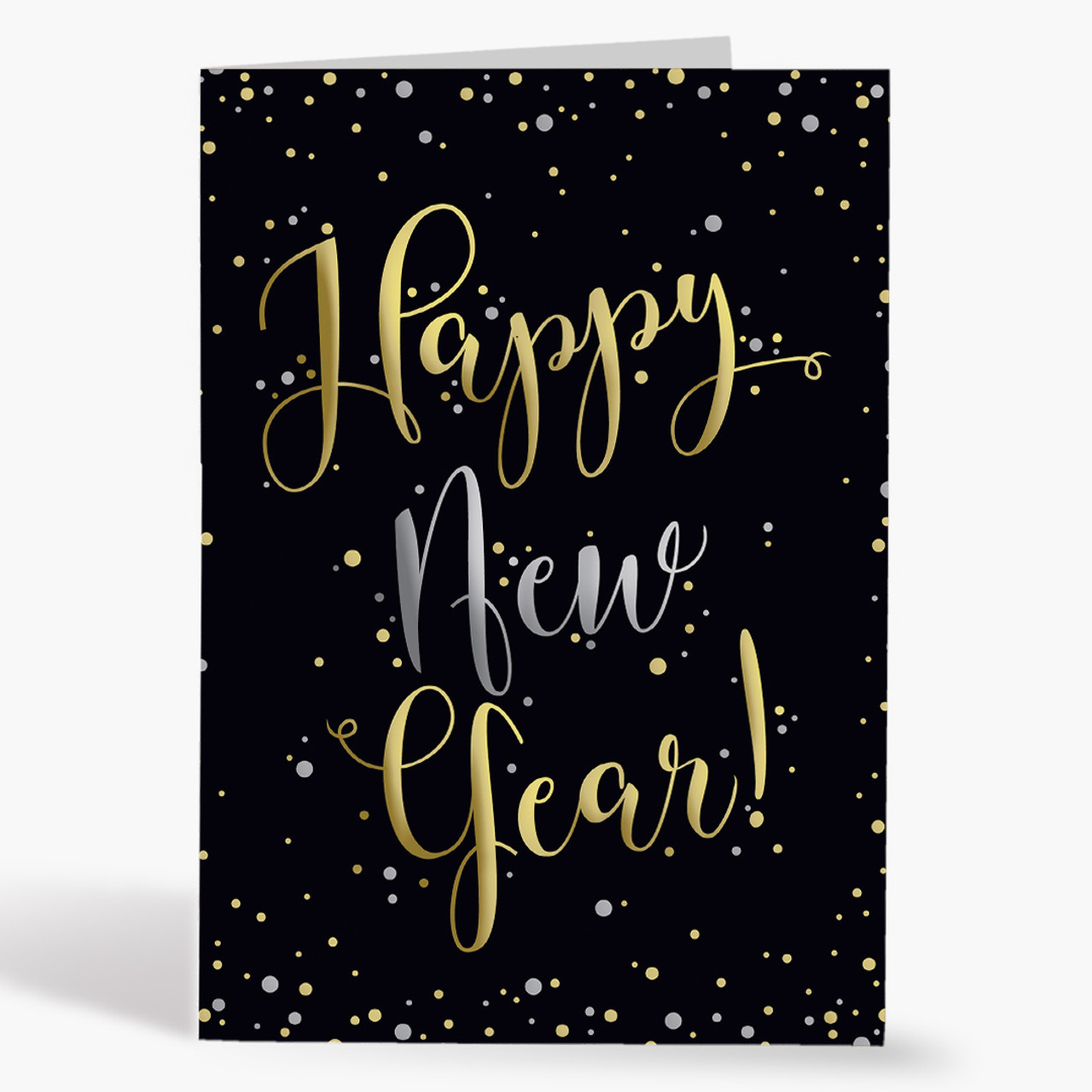 New Year Confetti Drop