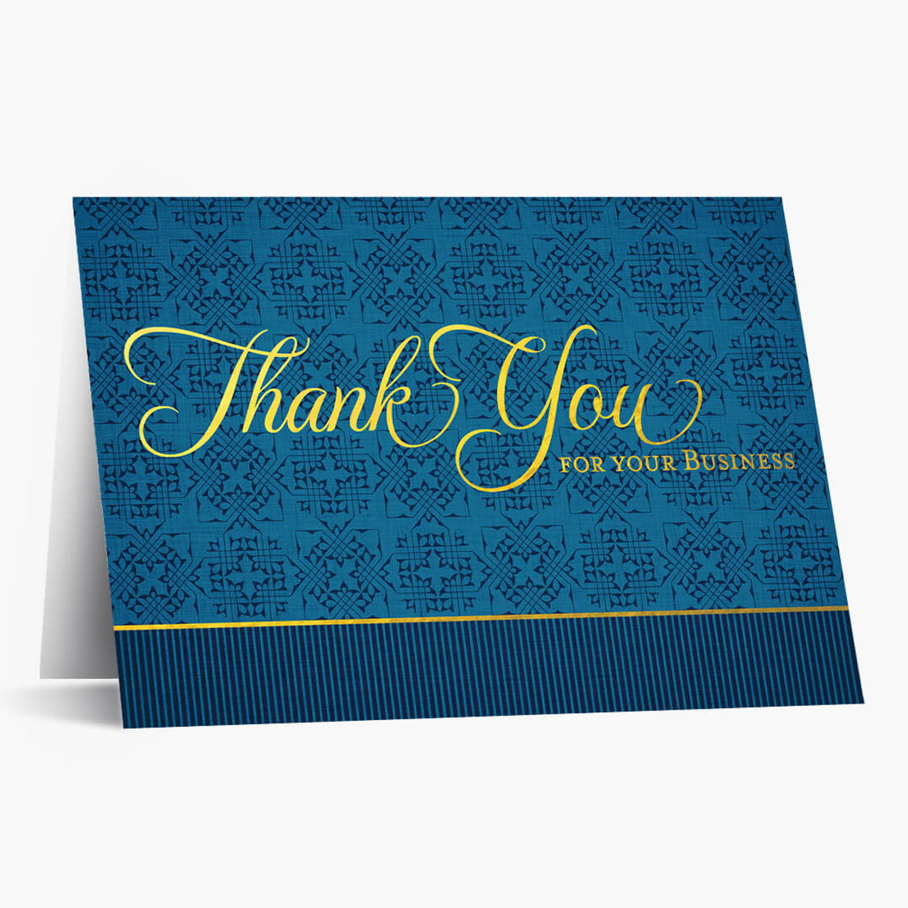 Sophisticated Thank You - Business