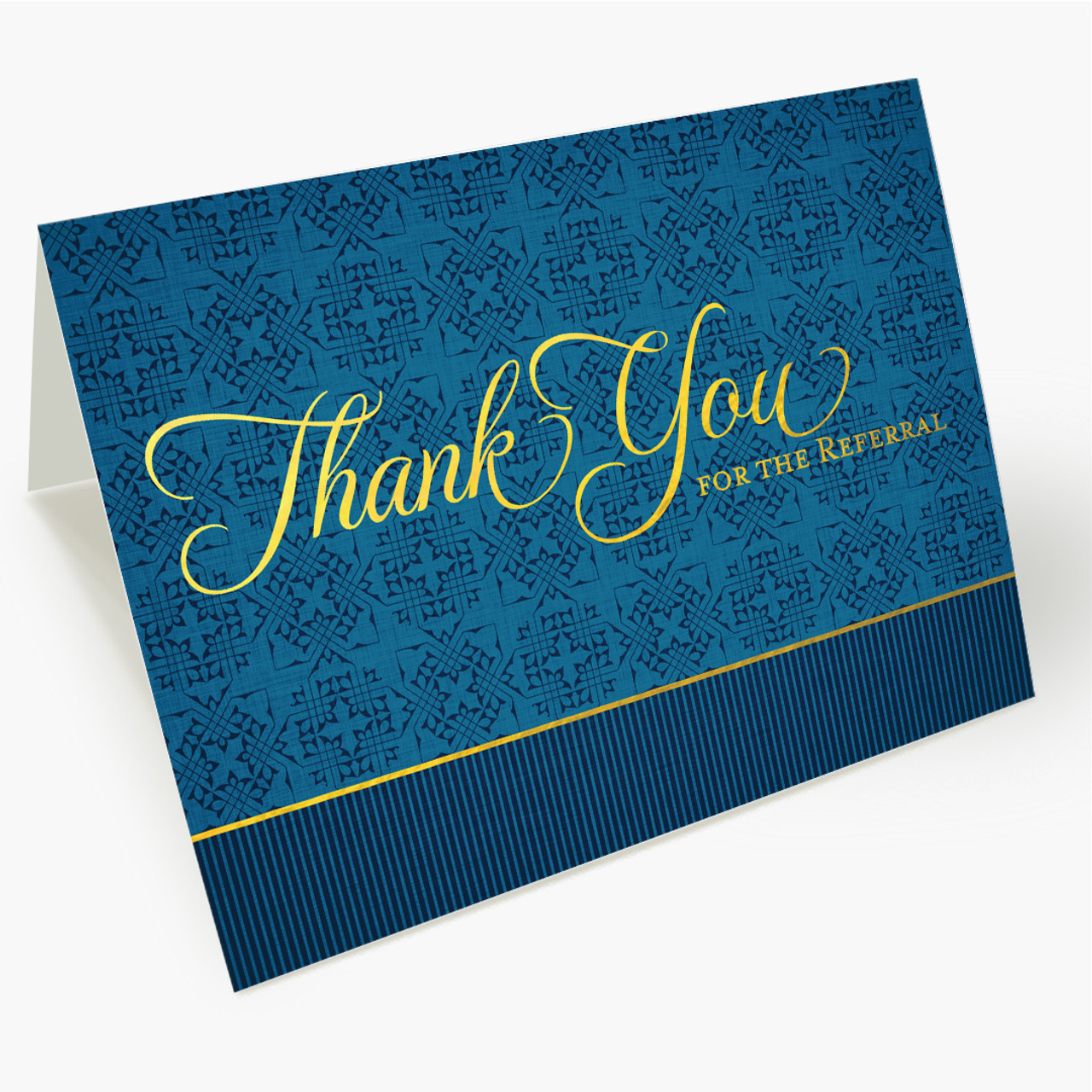 Sophisticated Thank You - Referral