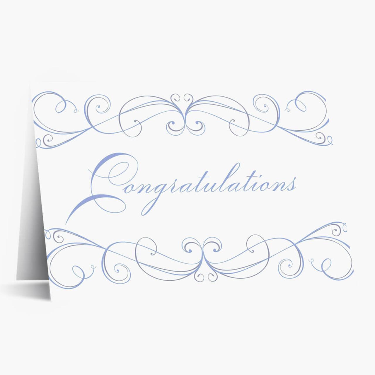 Congratultions Flourish
