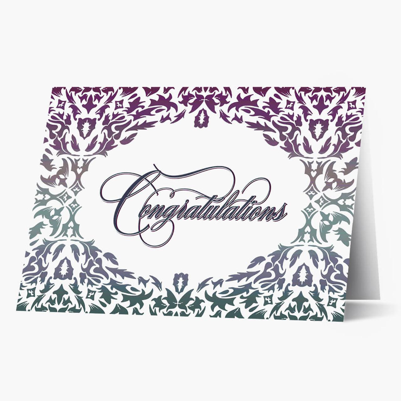 Damask Congratulations