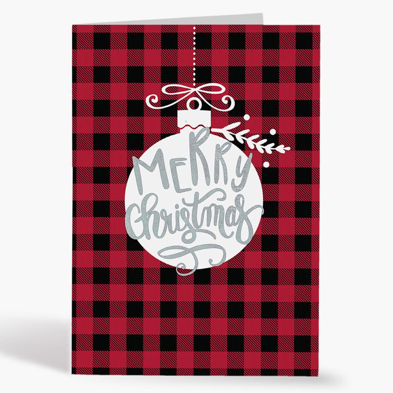 Checkered Merry Christmas