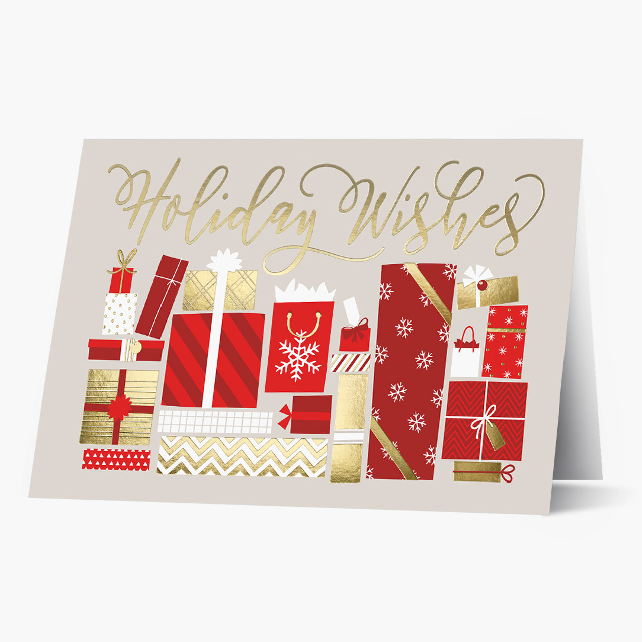 Holiday Packages Greeting Card