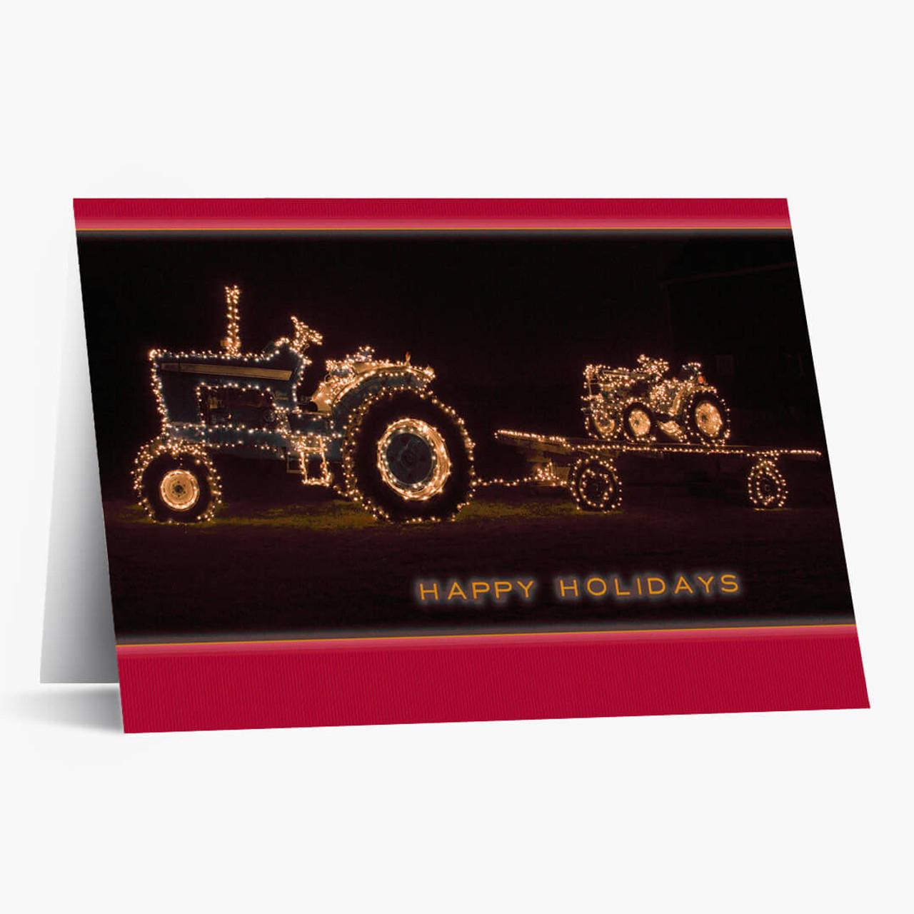 Christmas Tractors