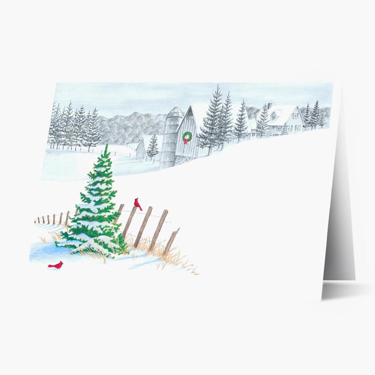 Winter Pencil Sketch