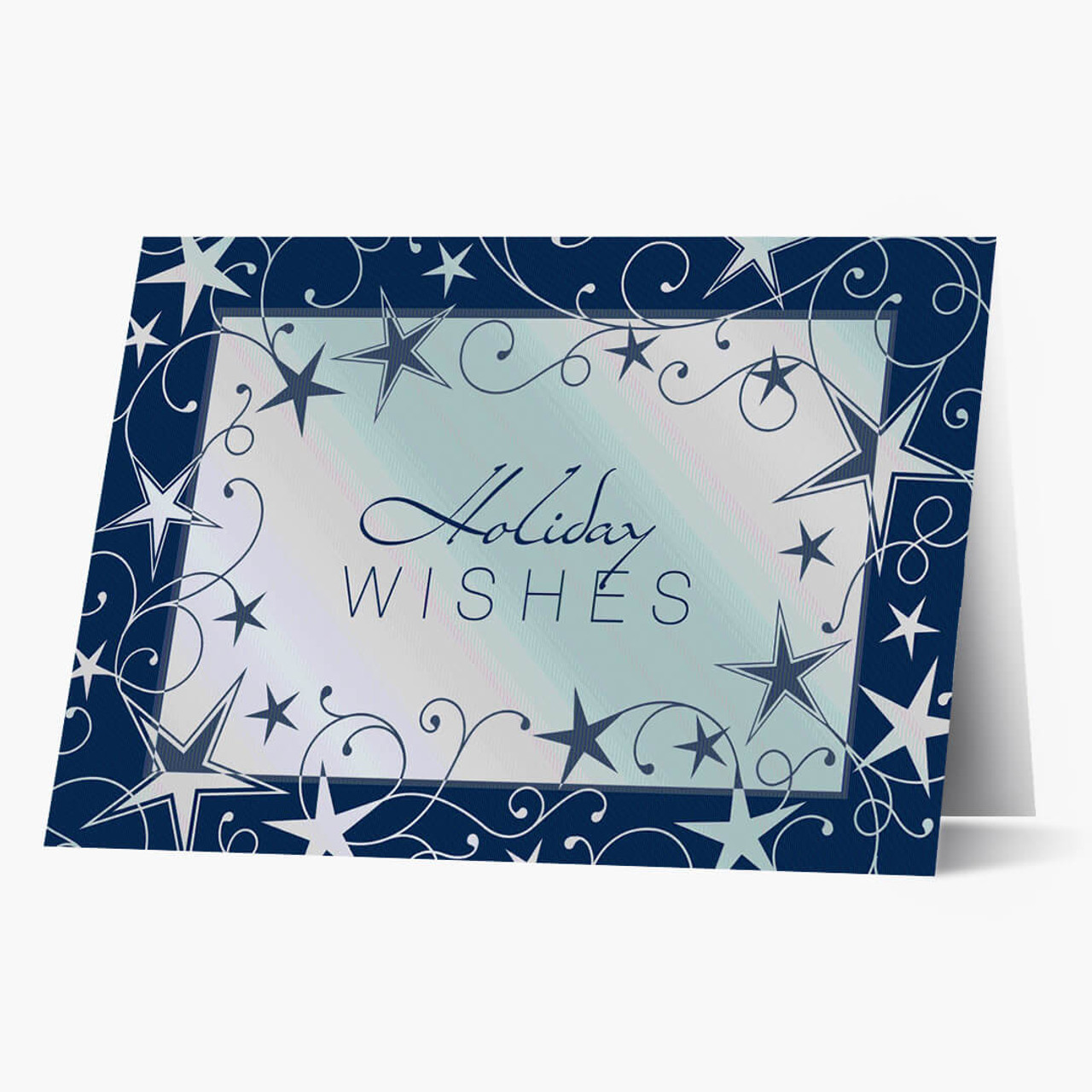 Blue Star Holiday Wishes