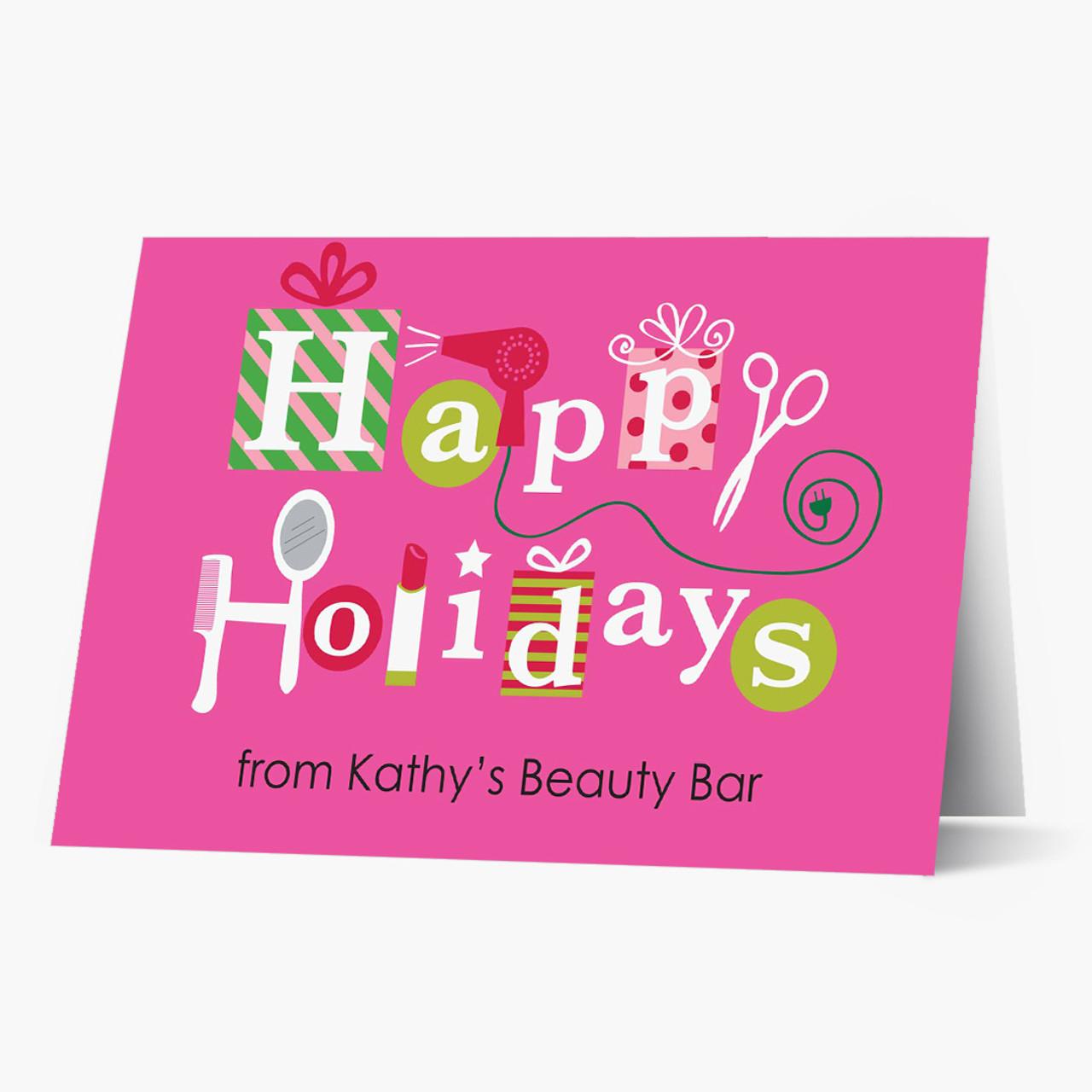 Happy Holidays Beauty Salon