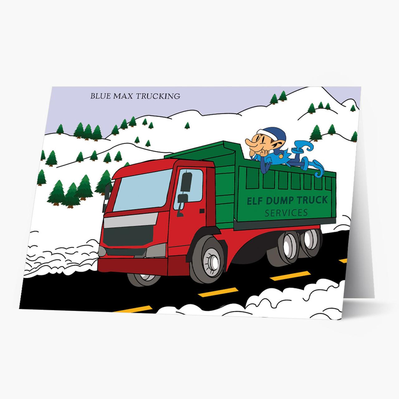 Elf Express Dump Truck