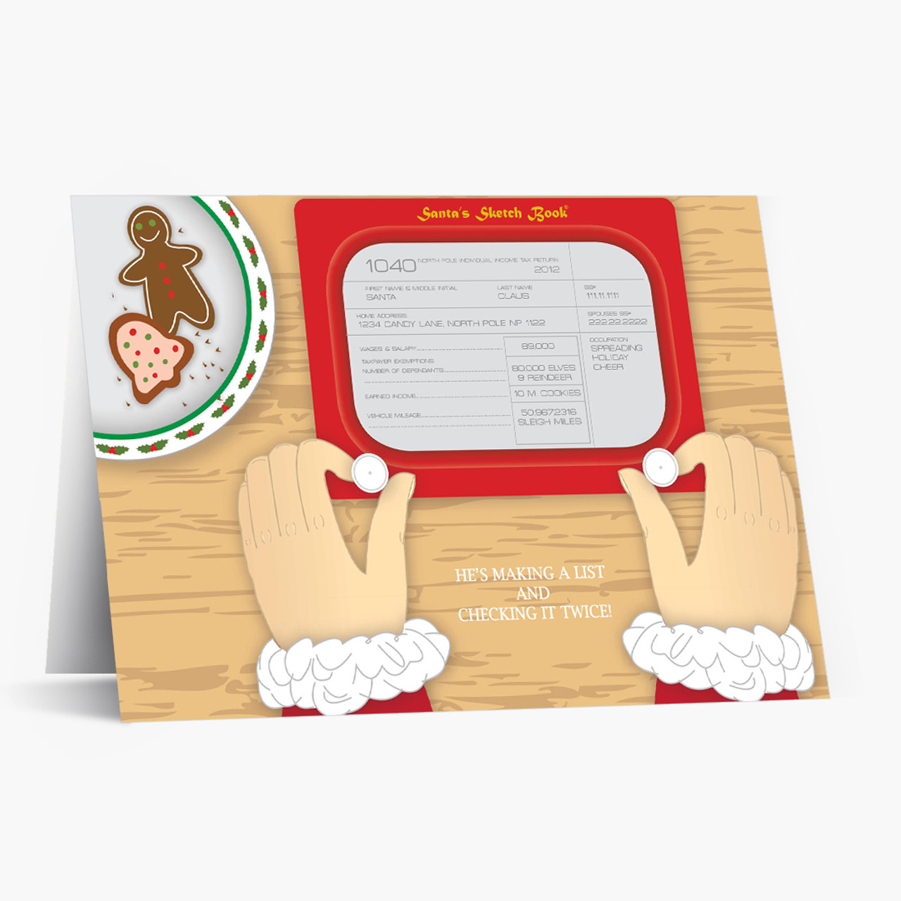 Santa's Sketch Book