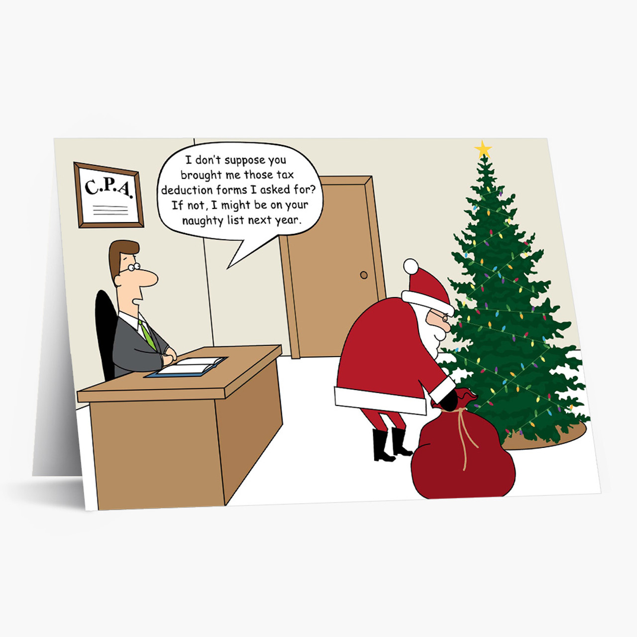 Santa's CPA