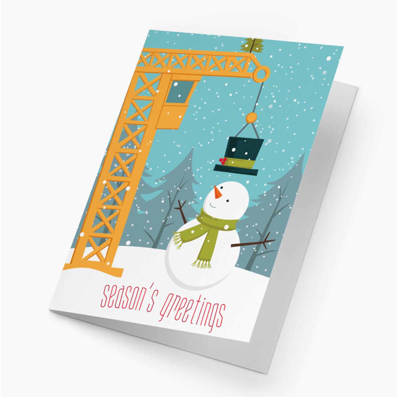 Snowman Construction