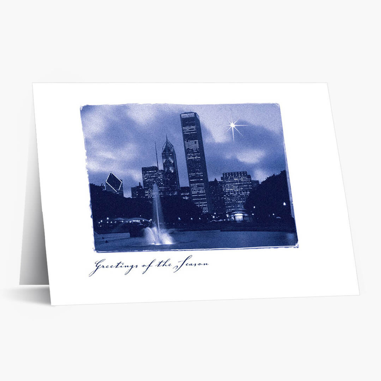 A Star Over Chicago Christmas Card