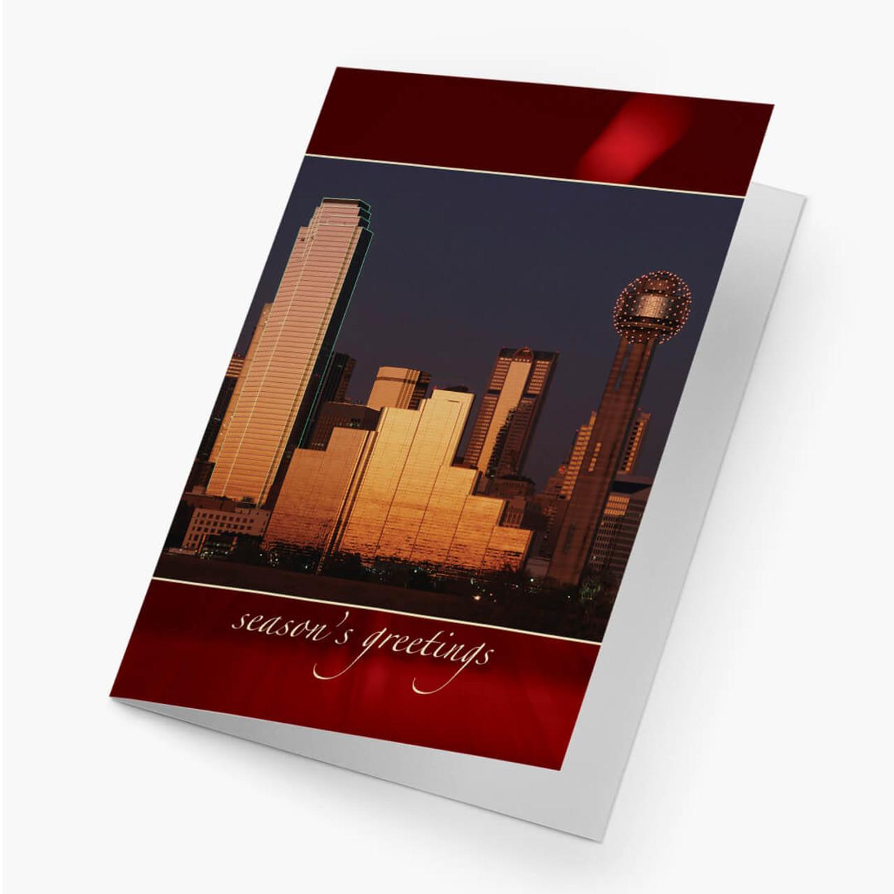 Dallas Ruby Christmas Card