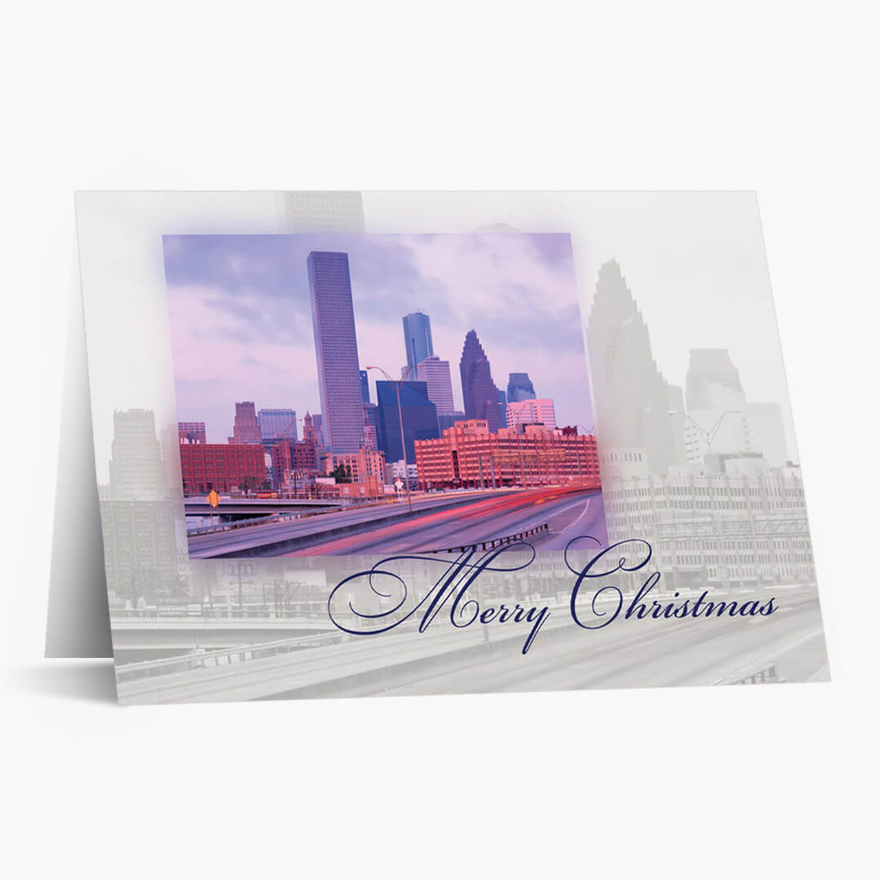 Houston Landmark Christmas Card