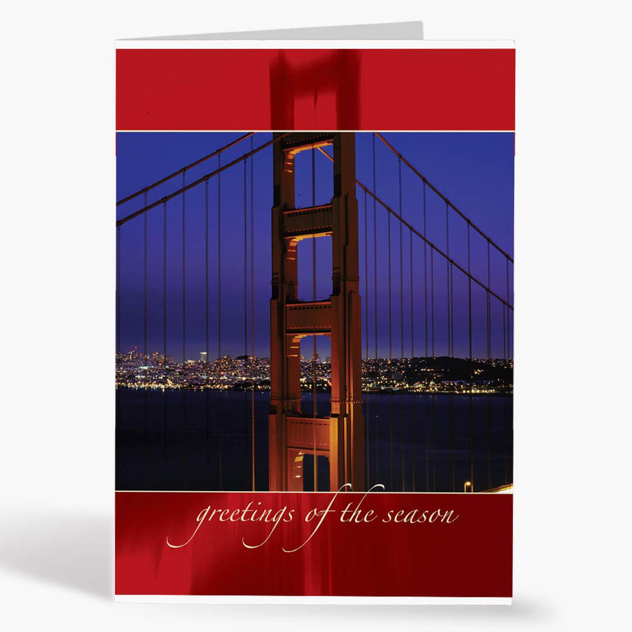 San Francisco Ruby Christmas Card