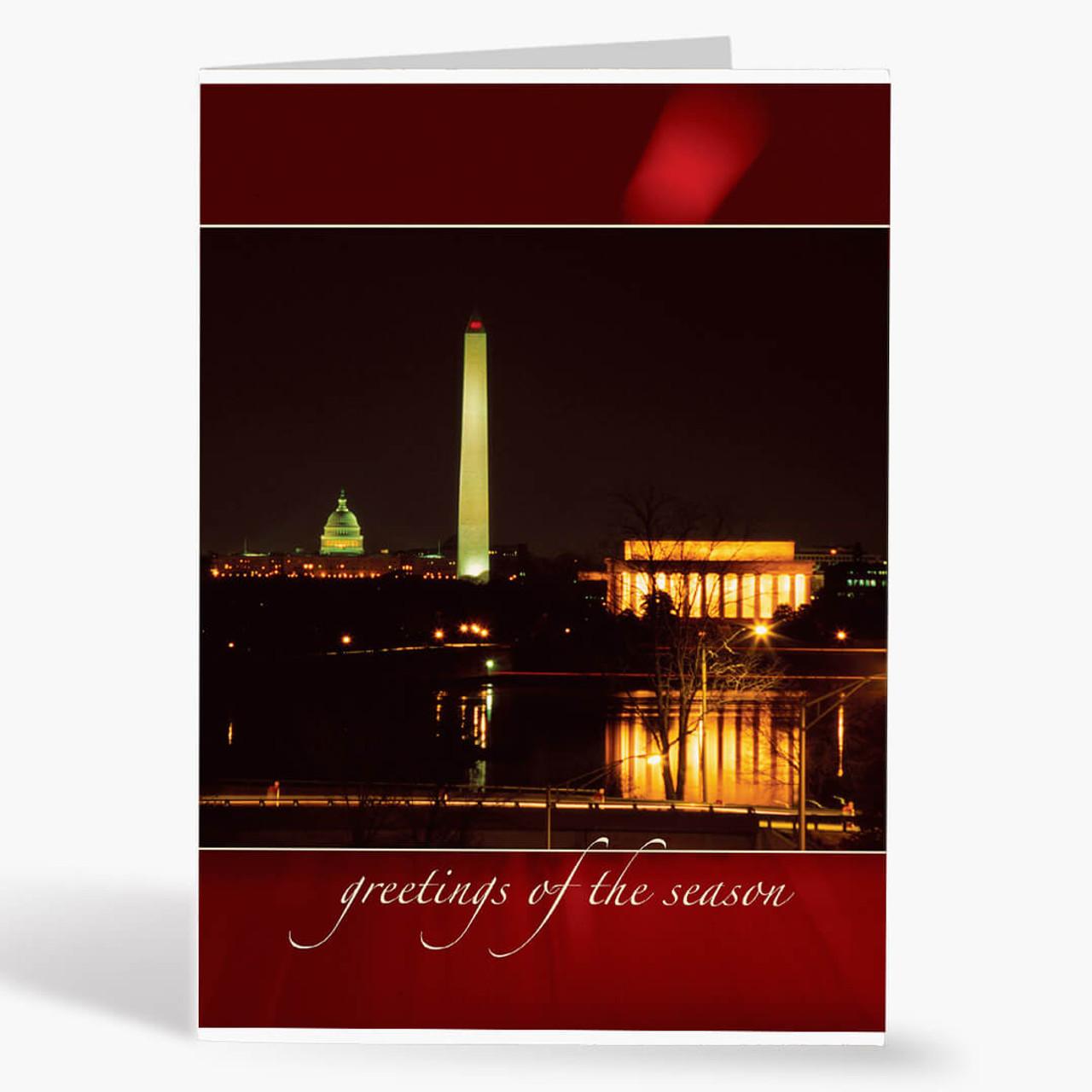 Washington Ruby Christmas Card