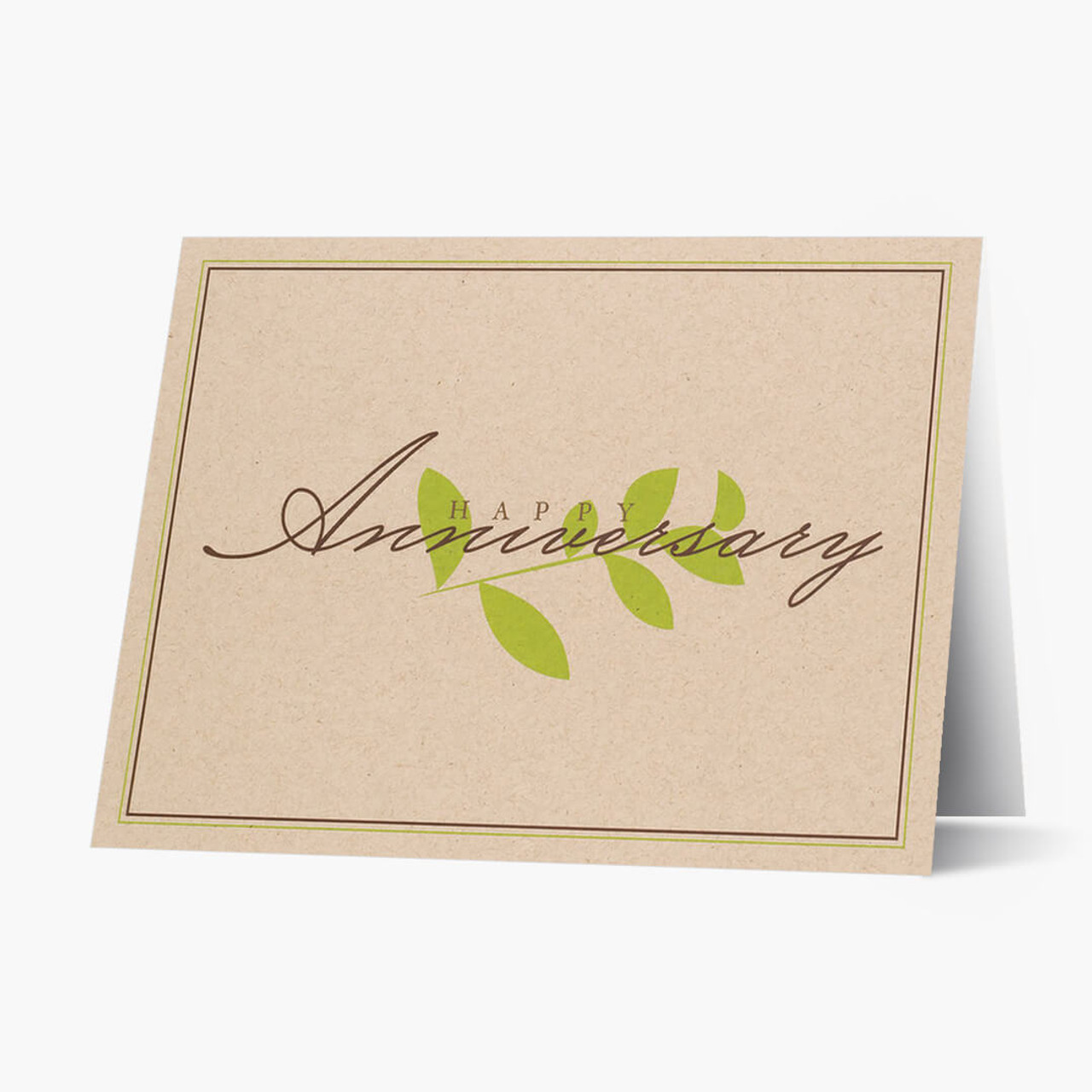 Recycled Anniversary Card
