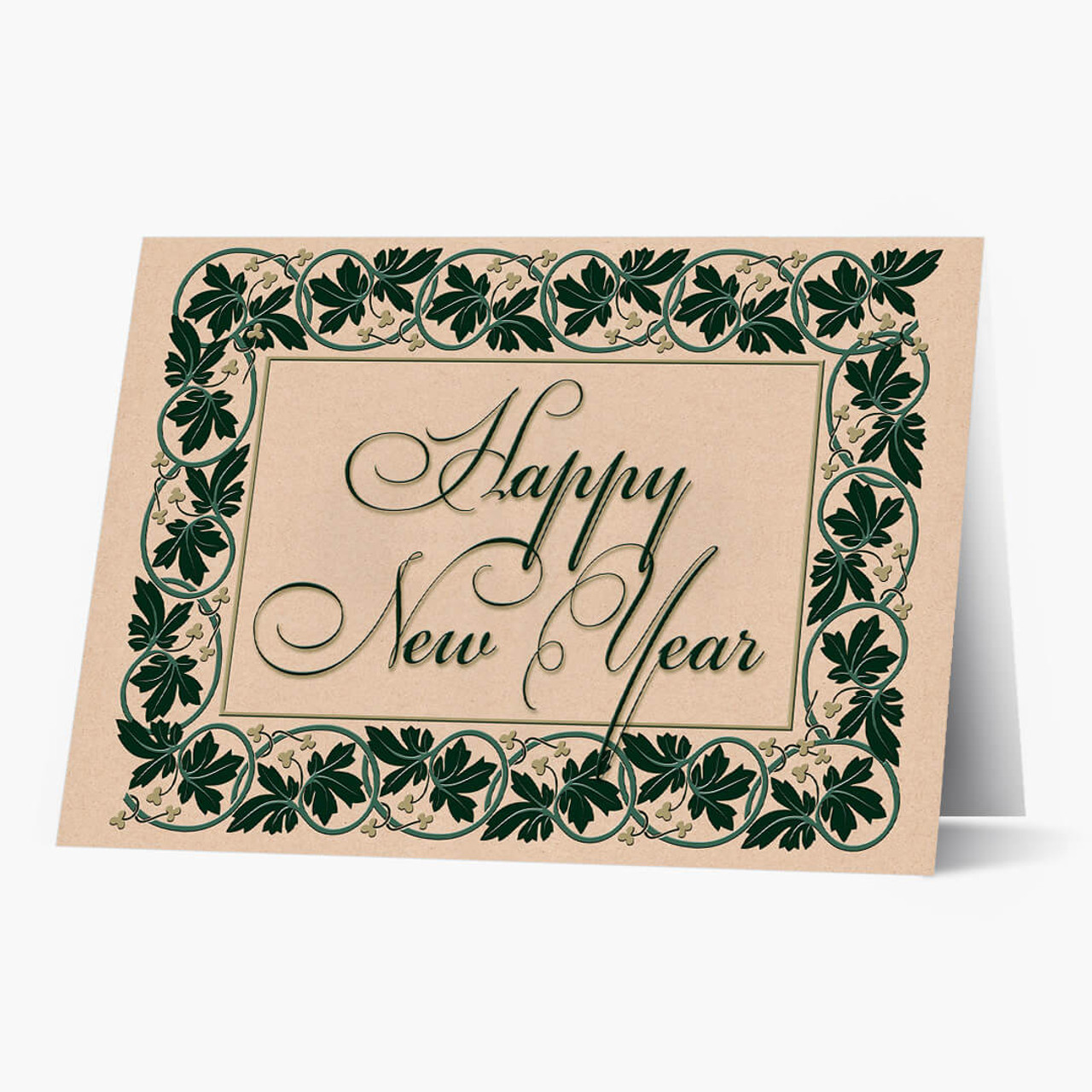 New Year Ivy Card
