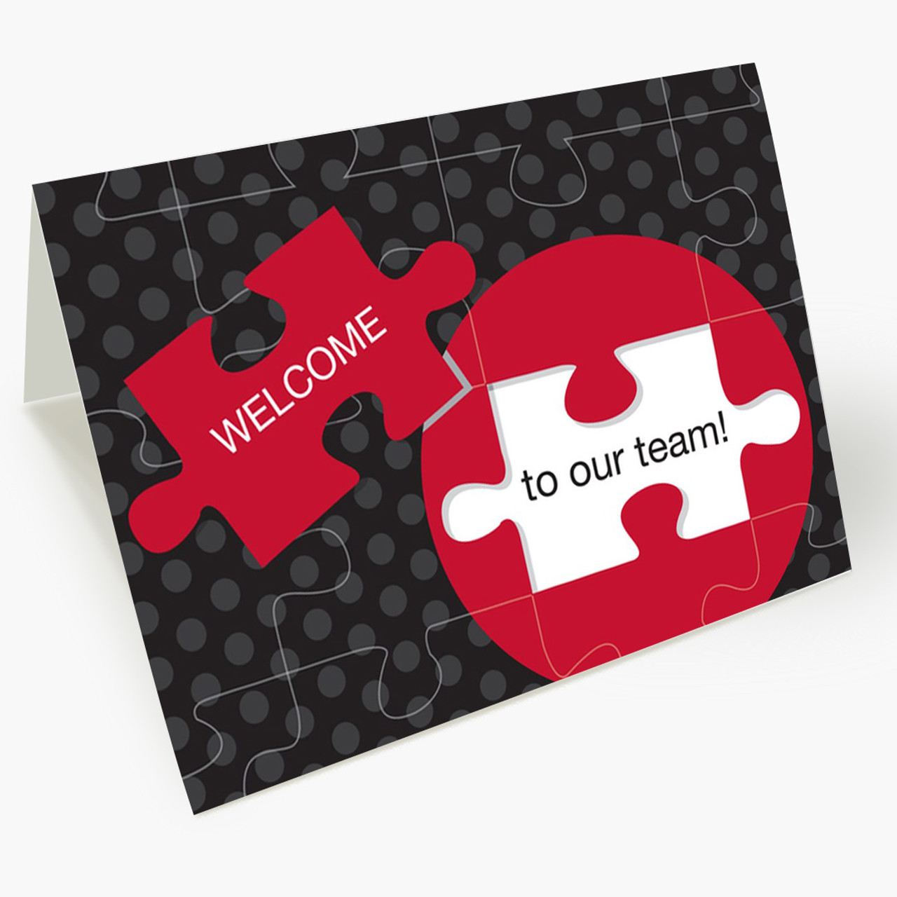 A Welcome Puzzle Card