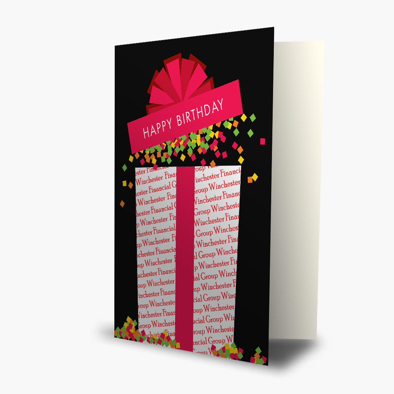 Confetti Splash Birthday Card
