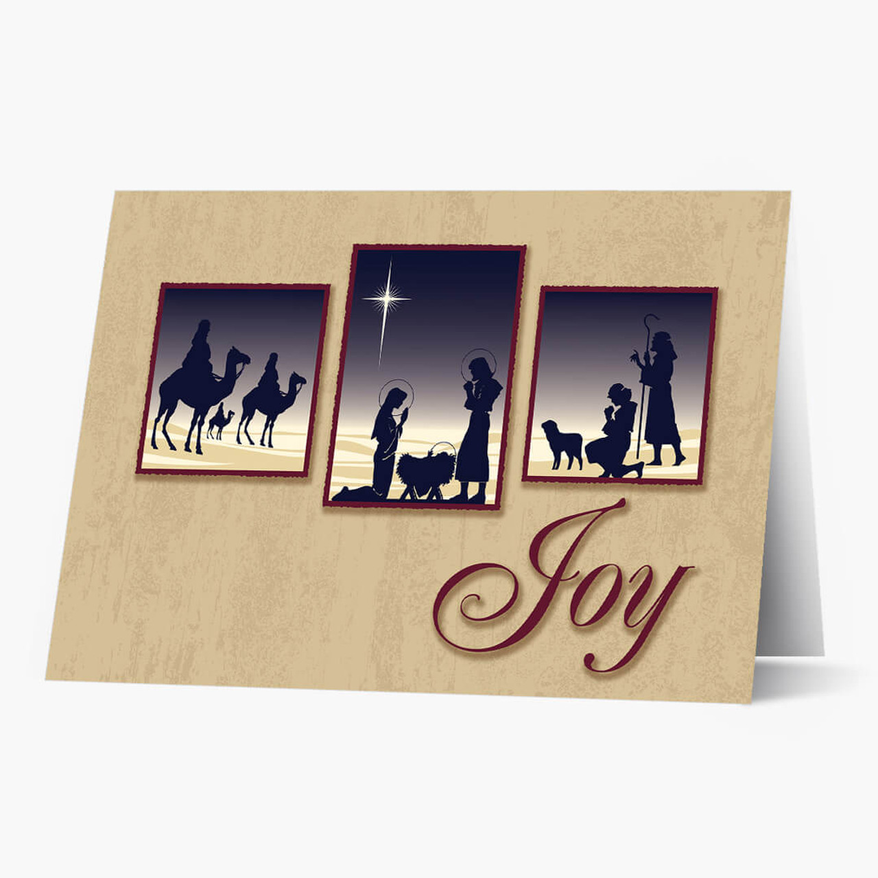 Religious Joy  Christmas Card
