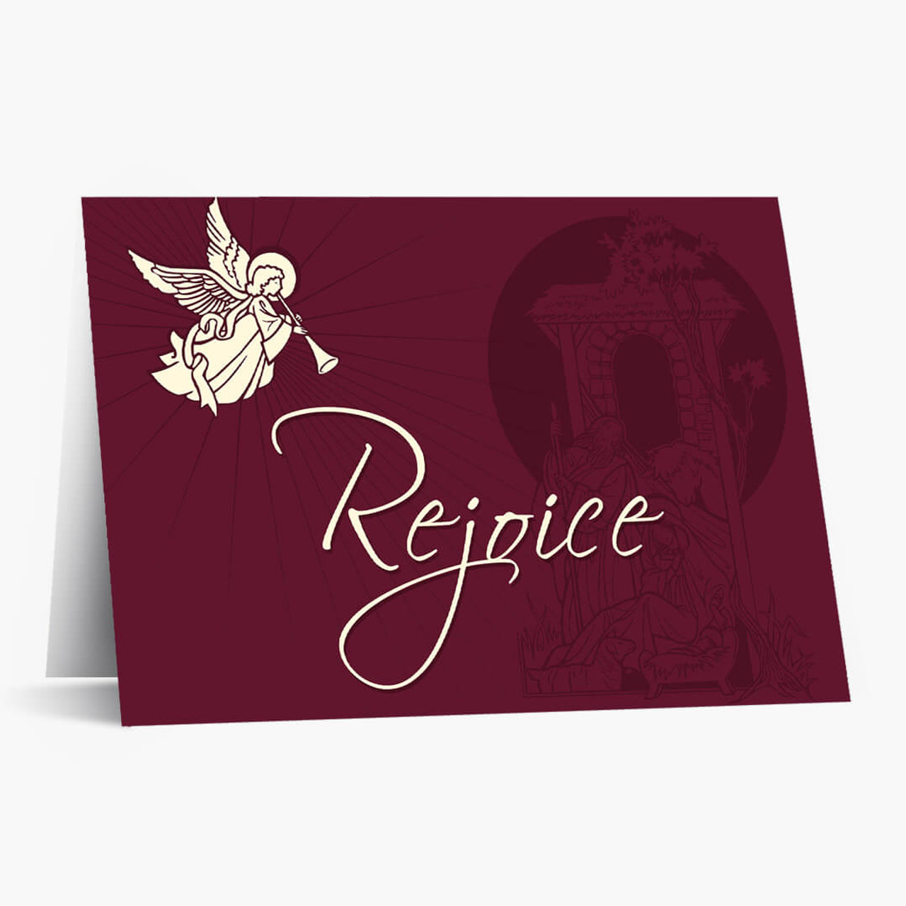 Rejoice Budget  Christmas Card