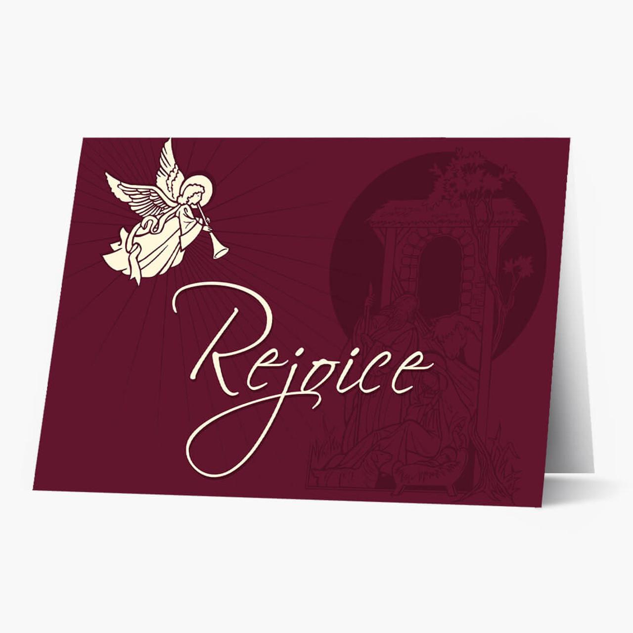 Rejoice Budget  Christmas Card