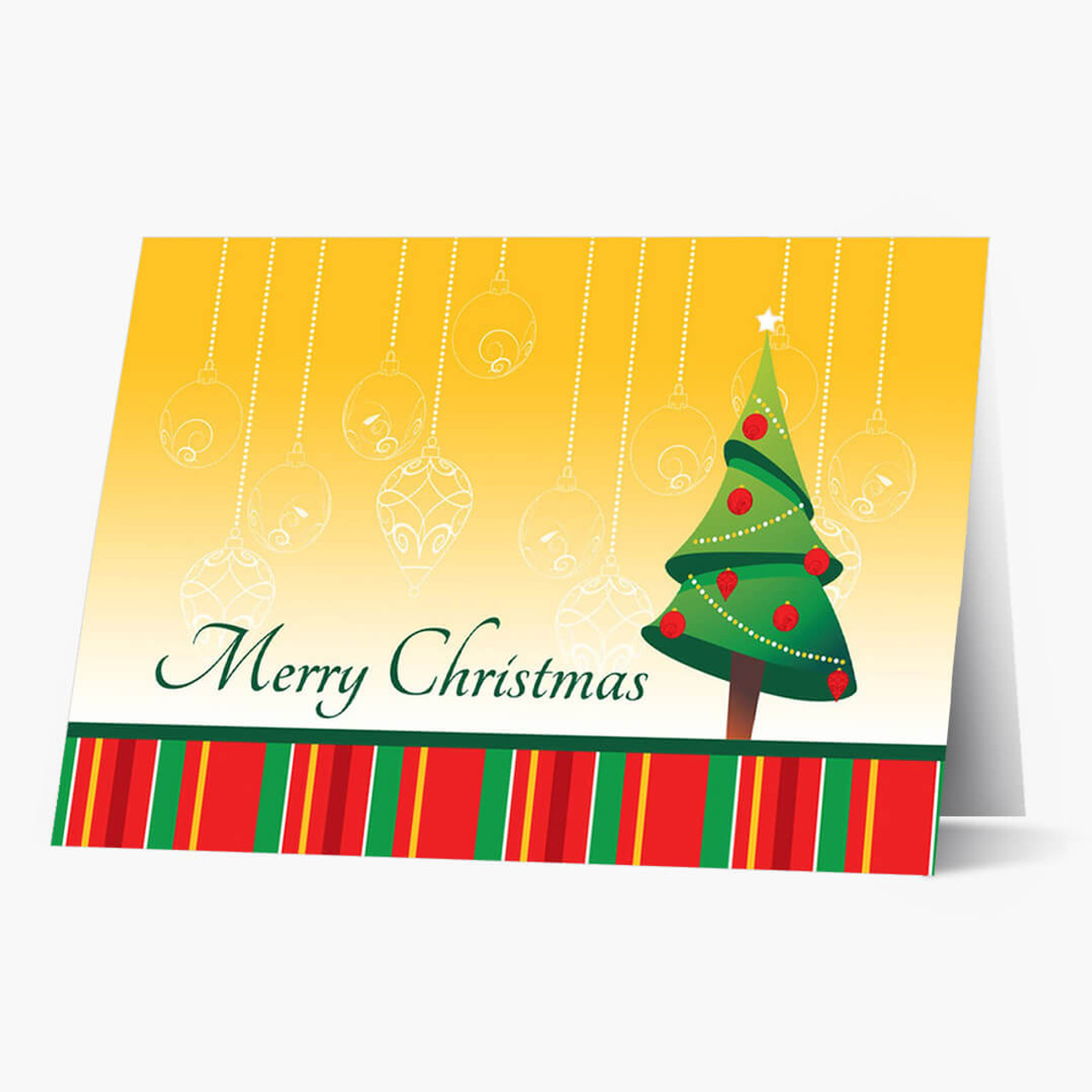 Bright  Greetings Christmas Card