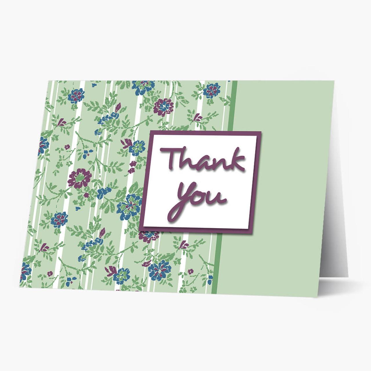 Framed Thank You Card
