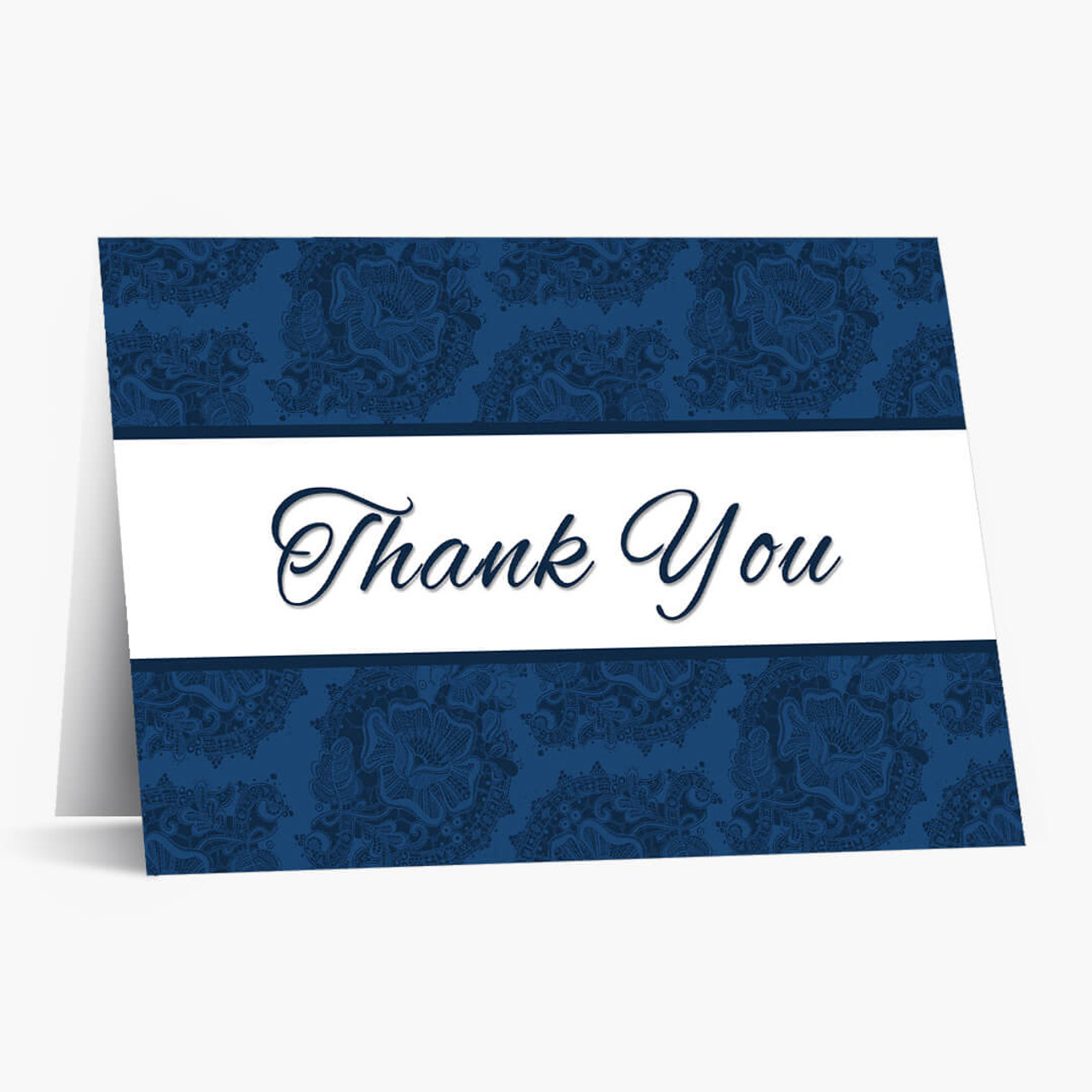 Elegant Budget Floral Thank You Card